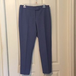 Anne Klein extended tap Bowie pants